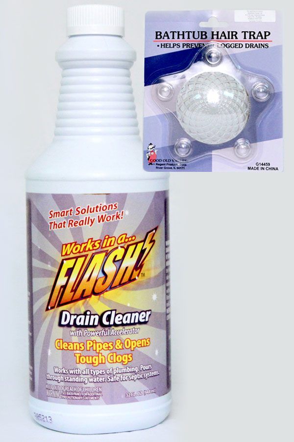 2 pc Accelerated Drain Cleaner