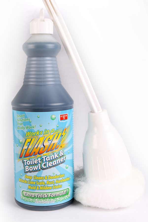 Flash Toilet and Tank Bowl Cleaner