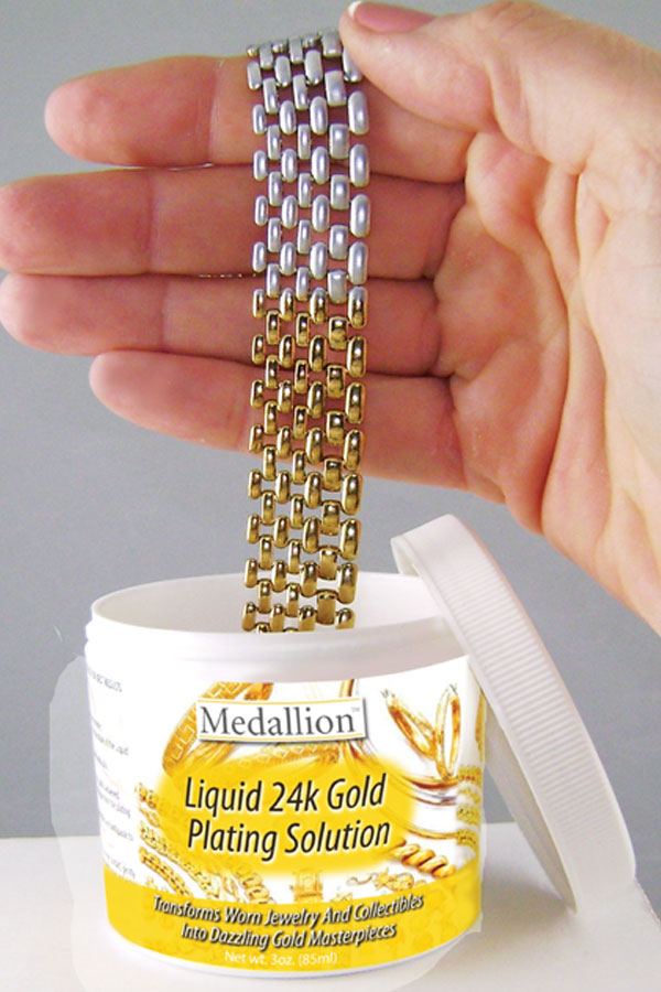 Science Solutions LLC Liquid 24K Gold Plating Solution